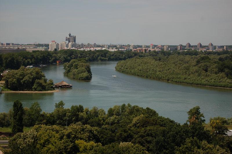 Слияние Дуная и Савы
