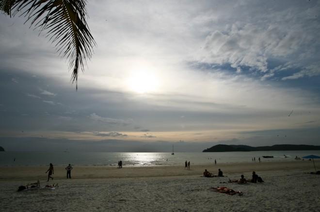 Пляжный Лангкави  - пляж Чинанг