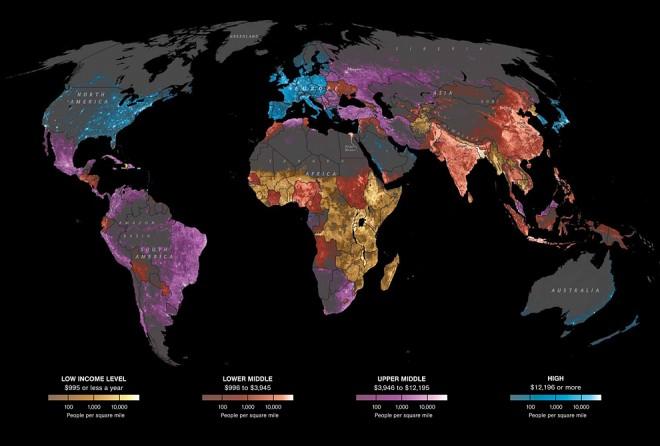 Карта National Geographic