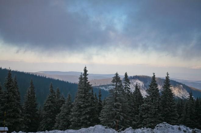 Вид с горы Прадед
